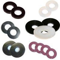 nylon-washers-penny-rubber-black-white-fibre