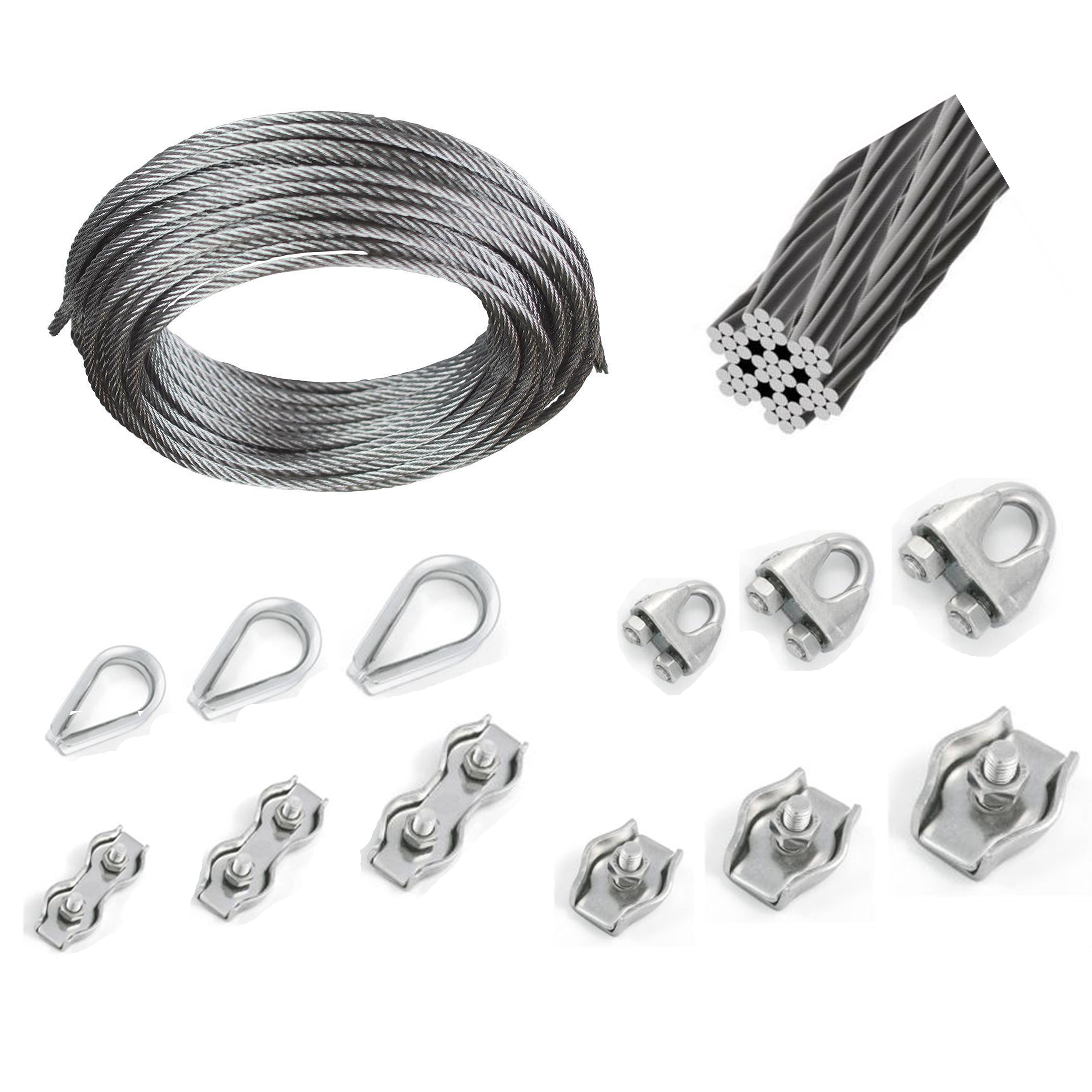 Nylon Line Plastic Thimble Eyes Replacements For 16mm Wires Ropes
