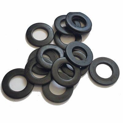black-stainless-steel-washers